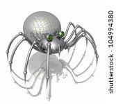 Robot Spider. 3d Illustration ...