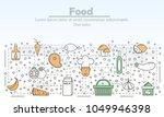 food advertising vector...