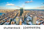 Aerial View Of Boston In...