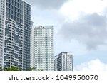 modern residential high rise...   Shutterstock . vector #1049950070