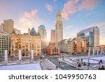 Boston Downtown Skyline At...