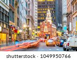 old state house and the... | Shutterstock . vector #1049950766