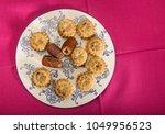 arabic traditional cookies  ... | Shutterstock . vector #1049956523