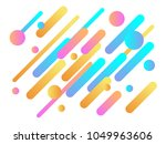 colorful modern style abstract... | Shutterstock .eps vector #1049963606