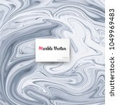 abstract marble vector pattern... | Shutterstock .eps vector #1049969483