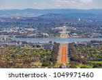 view of canberra  from mount... | Shutterstock . vector #1049971460