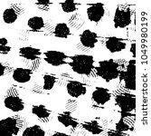 grunge halftone black and white ... | Shutterstock .eps vector #1049980199
