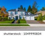 big custom made luxury house...   Shutterstock . vector #1049990834