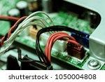 technology electronics elements ... | Shutterstock . vector #1050004808