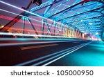Night Traffic Lights Inside Of...