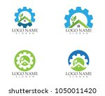 building home nature service... | Shutterstock .eps vector #1050011420