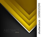 yellow triangle background...   Shutterstock .eps vector #1050015290