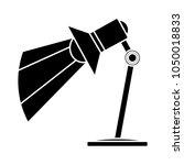 desk light lamp icon   Shutterstock .eps vector #1050018833