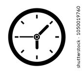vector clock icon | Shutterstock .eps vector #1050019760
