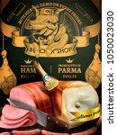 butchery shop promotion ads ... | Shutterstock .eps vector #1050023030
