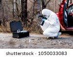 criminological expert... | Shutterstock . vector #1050033083