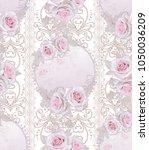 seamless pattern. decorative... | Shutterstock . vector #1050036209