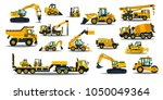 a large set of construction... | Shutterstock .eps vector #1050049364