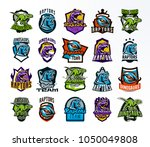 a large and colorful collection ... | Shutterstock .eps vector #1050049808