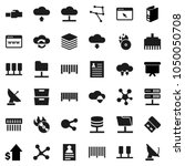flat vector icon set   archive... | Shutterstock .eps vector #1050050708