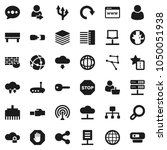flat vector icon set   world... | Shutterstock .eps vector #1050051938