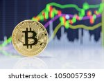 crypto currency  blockchain or... | Shutterstock . vector #1050057539
