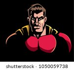 comics style llustration of the ... | Shutterstock .eps vector #1050059738