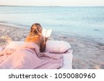 relax concept. cozy and... | Shutterstock . vector #1050080960