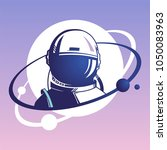astronaut.  the first cosmonaut....   Shutterstock .eps vector #1050083963