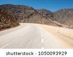 road from salalah to yemen... | Shutterstock . vector #1050093929