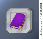 game icon of magic book in...