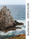 Small photo of Pointe de Pen Hir in Brittany, Finistere, France
