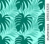 seamless pattern of a tropical...   Shutterstock .eps vector #1050115253