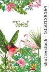 template of poster  banner ... | Shutterstock .eps vector #1050138164