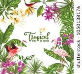 template of poster  banner ... | Shutterstock .eps vector #1050138176