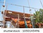 sur   sultanate of oman   jan... | Shutterstock . vector #1050145496
