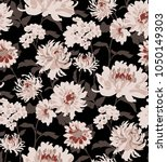 seamless floral pattern in... | Shutterstock .eps vector #1050149303