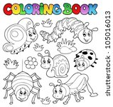Coloring Book Cute Bugs 1  ...