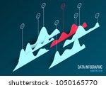 abstract vector digital...   Shutterstock .eps vector #1050165770