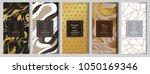 chocolate bar packaging mock up ... | Shutterstock .eps vector #1050169346
