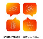 wheel  car mirror and spark... | Shutterstock .eps vector #1050174863