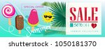 sale special offer banner.... | Shutterstock . vector #1050181370