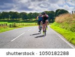 two cyclists on a cycling tour...