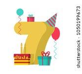 7 Year Happy Birthday Greeting...
