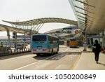mar 18 2018 bus arrive at... | Shutterstock . vector #1050200849