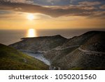beautiful summer seascape from... | Shutterstock . vector #1050201560