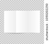 blank brochure template  | Shutterstock .eps vector #1050202250