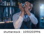 young asian casting bartenders... | Shutterstock . vector #1050203996