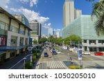 feb 24  2018 traffic in makati...   Shutterstock . vector #1050205010