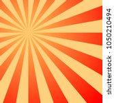 sun rays vintage background ... | Shutterstock .eps vector #1050210494